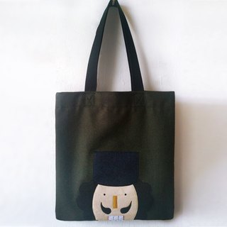 Nutcracker Tote Bag - handmade