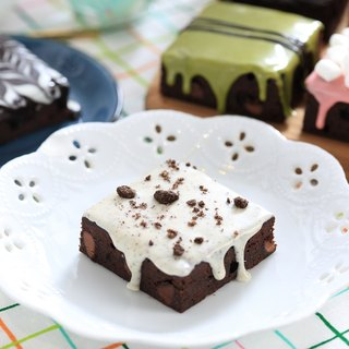 [Mr. Brown Bear Chocolate Brownie] crispy white chocolate Brownie 6