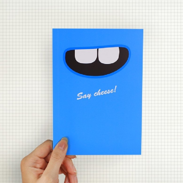 Say Cheese!! 筆記本 天空藍