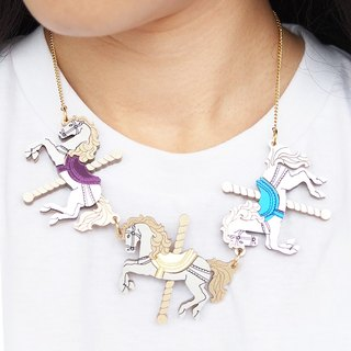 Merry Go Around Necklace