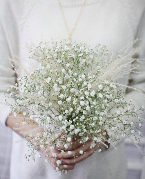 Starry bouquet] - Preserved flowers / dried flowers / jewelry ...