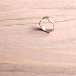 [ODY] HandMade × TETRIS RING × neutral minimalist design, hand-crafted sterling silver rings