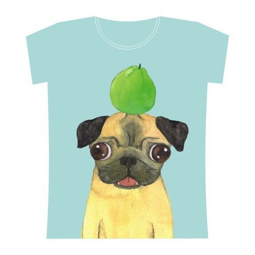 pug and guava t-shirt
