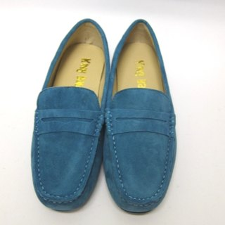 Fort Tony Wang handmade leather shoes (M) [matte / rubber-soled / sky blue]