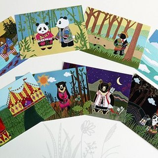 Bears of the World Postcard Set - 8pcs