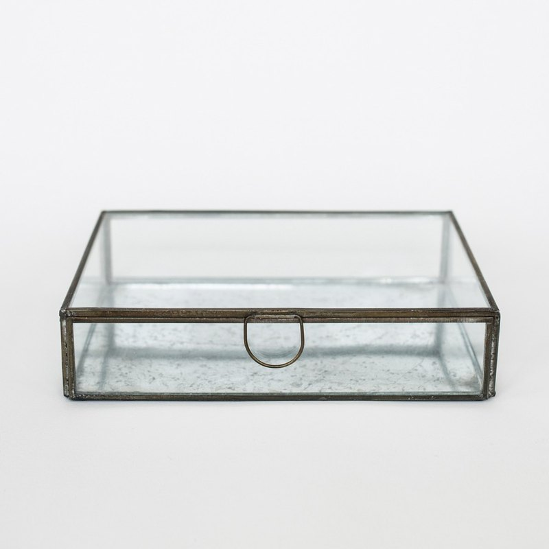 OOPSY Life - large glass jewel box - RJB