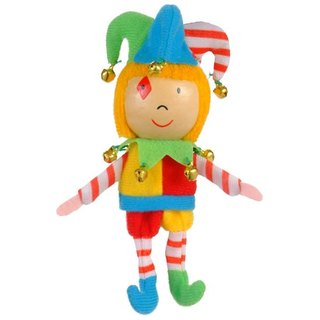 [UK Fiesta moving hands +] happy clown creative play creativity finger doll