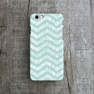 Baby Blue, Handdrawn - Designer iPhone Case. Pattern iPhone Case.