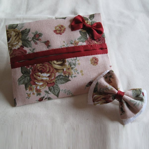Wind - glossy paper sleeve + hair accessories (can be customized)