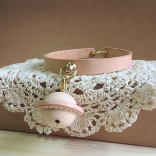 Willy pet leather collar bell [Size S]