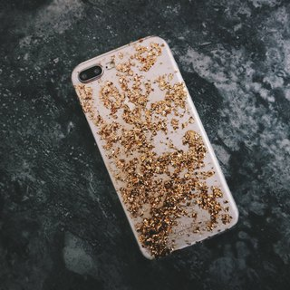 Vintage Gold Foil Series ll Champagne Gold Champagne Gold ll Mobile Shell