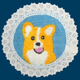 corgi jelly Shibu mat (powder blue)