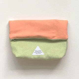 MaryWil Colorful Shoulder Bag-Orange/Green