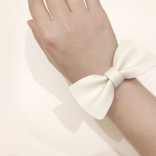 Zemoneni whole hand-made limited-white cowhide leather bracelet bracelet three color choices pure collection