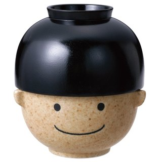 Sunart rice soup bowl - Man Taro (black)