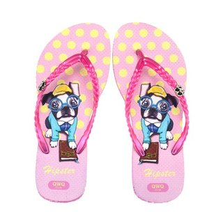 QWQ Creative Design Flip-Flops (No Drill)-Hipster-Powder[STN0391502]