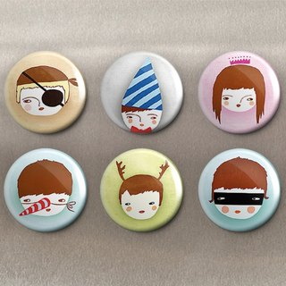 Naughty Child - Magnet (6 in) / Badge (6 in) / Birthday Gift [Special U Design]