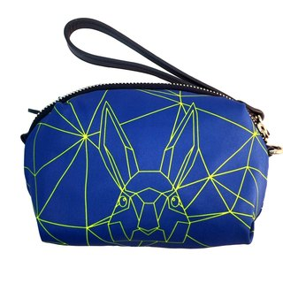 Khieng Atelier Diamond Rabbit Rabbit fluorescent diamond limited edition sports carry bag