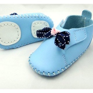 Qiduowu MIT Taiwanese calfskin shoes handmade DIY kit C (only blue)