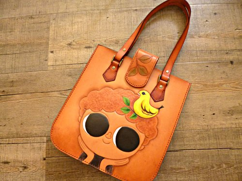 POPO│ original │ Gayle painting sculpture creation package │ genuine leather