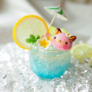 Sweet Dream ☆ Summer Fun Fruit Bubble Ice Cream - small children meow (taro taste)