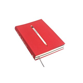 Nine mountain 224P pencils white paper notebook -06 (red SUPERB WRITER)