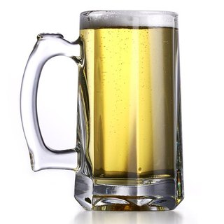 355cc [MSA] Pasabahce unleaded gold beer mug cool summer booze beer mug customized