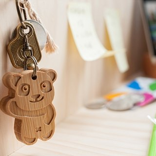 [customized gift] cute animal series / Hello bear key ring birthday Christmas lover gift