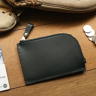 weekenlife - Leather Coin Purse ( Custom Name ) - Harley Black