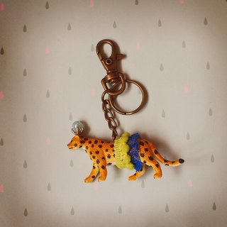 Gorgeous adventure - Leopard Keychain