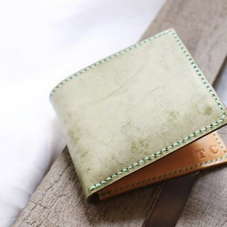 Leather tri-fold wallet / purse / wallet