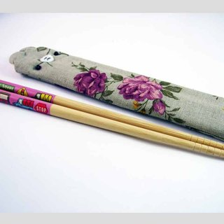 "Cheerful. ""Portable chopsticks sets / green chopsticks / chopsticks / tableware"" flower Yang"