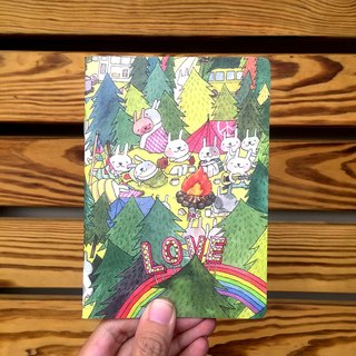 A6 Notebook | Bunny Love Music Festival