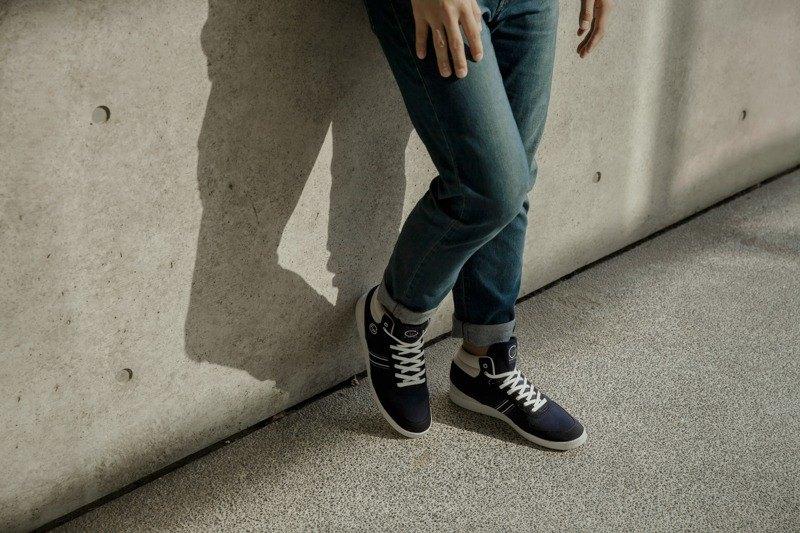寶特瓶製休閒鞋  CEVENNES 高筒    深藍色    男生款