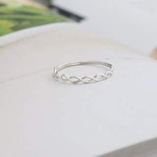 Sterling Silver Ring 0279 - Circle