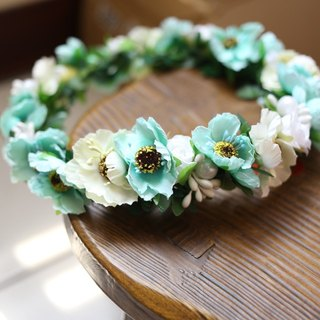 Wreaths Manor*Handmade jewelry bouquet*wedding small objects*bridal bouquets*Wreath - Pre ~~ H4