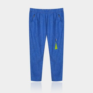Mexican children [Recommended] multi tender is also very good / cool sunscreen cotton trousers - dark blue