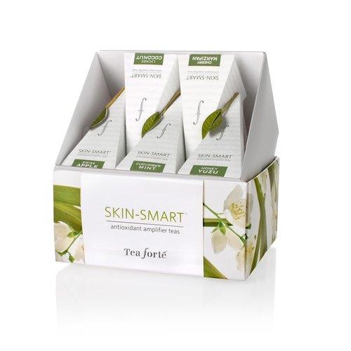 Tea Forte 10 Into A Silk Pyramid Bags Light Muscle Beauty Skin Smart Pee Ribbon Box Designer Teaforte I