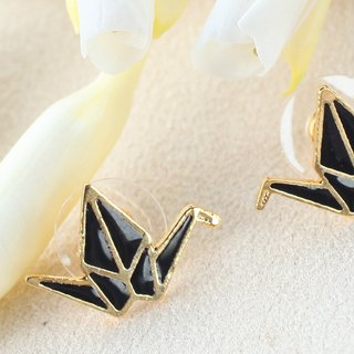 Origami ear pin earrings ‧ Dear DEAR DEER