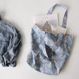 Dailylike-北歐雙面環保手提袋-10紅鶴,E2D21629