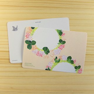 White clover postcard series