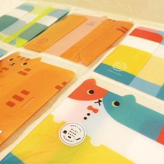hime's cats my cat color portable notebook series - slipcase