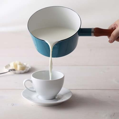 CB series Nordic blue enamel milk pot Turkey