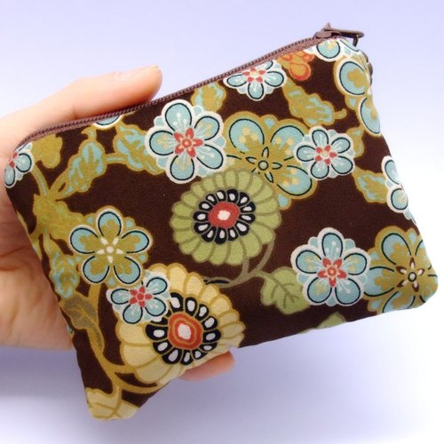 Zipper pouch / coin purse (padded) (ZS-11)