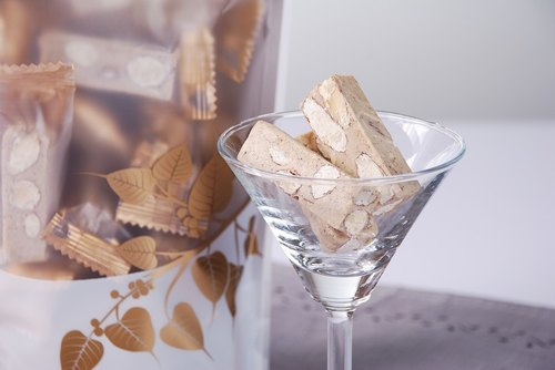 Six Degrees of this shop - Earl Grey almond nougat