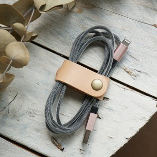 Natural color long section hub / take-up device / reel (Valentine's Day Mother's Day Father's Day Christmas graduates day exchange gifts typing headphone power cord charging line)
