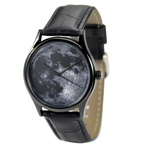 Moon Watch (Black) in black case