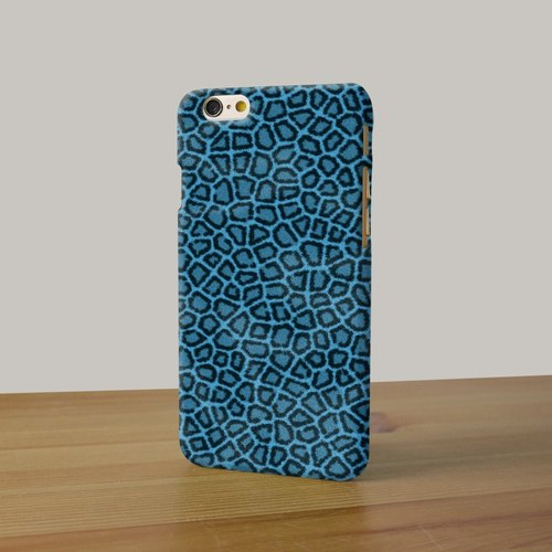 Blue Leopard 3D Full Wrap Phone Case, available for  iPhone 7, iPhone 7 Plus, iPhone 6s, iPhone 6s Plus, iPhone 5/5s, iPhone 5c, iPhone 4/4s, Samsung Galaxy S7, S7 Edge, S6 Edge Plus, S6, S6 Edge, S5 S4 S3  Samsung Galaxy Note 5, Note 4, Note 3,  Note 2