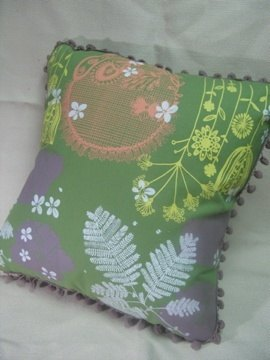 Fabric pillow (with pillow)