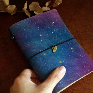 Series of Starry Night  - The Dust Jacket for A6 size - Light Style